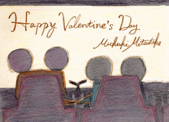 Happy Valentine's Day! As an expression of my gratitude. Thanks for seeing us!