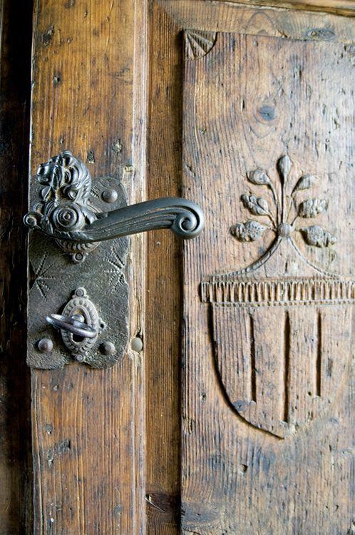 Doors hardware and beautiful on pinterest for Beautiful door handles