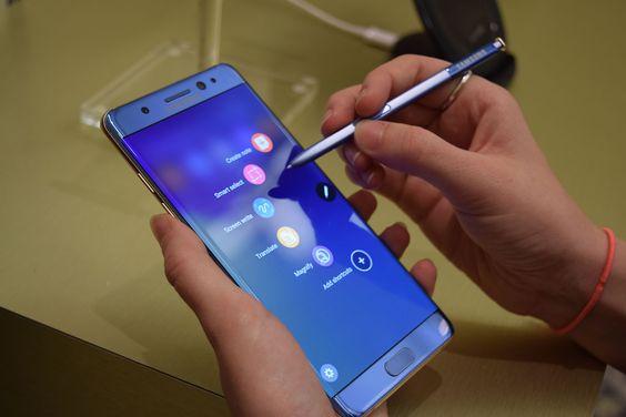 Samsung Galaxy Note 7 retirado del mercado por un problema de batería