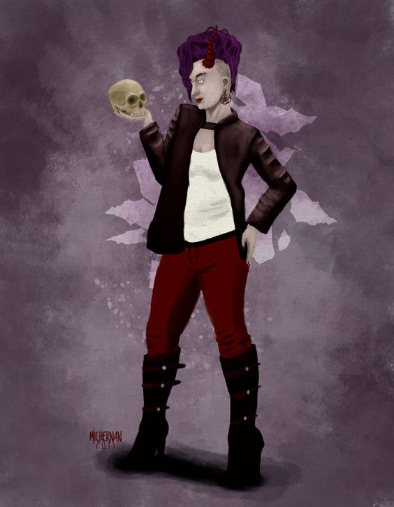 Modern Witch - Concept by Michernan on DeviantArt