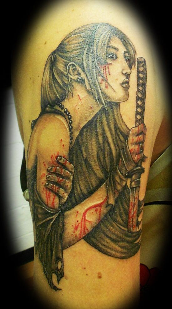 Zen And Samurai Tattoo The Samurai Tattoo Design And