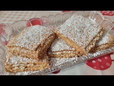 Napoleon Pecenye Pecenye Resepti Youtube Napoleon Food Cookies