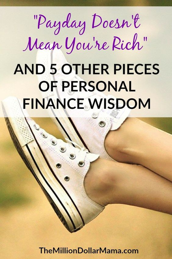 The money advice that I wish I could tell my younger self - oh, the financial wisdom I have now, compared to then!