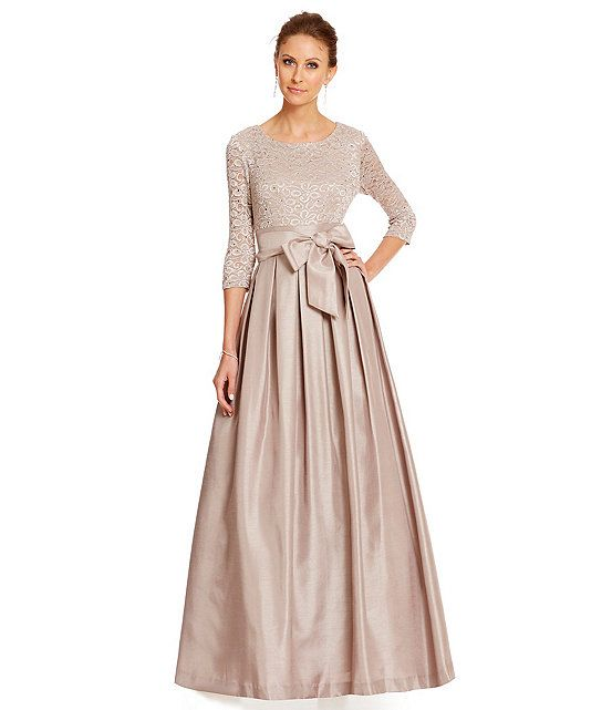 Jessica Howard Floral Embellished Lace-Bodice Gown - It&-39-s getting ...