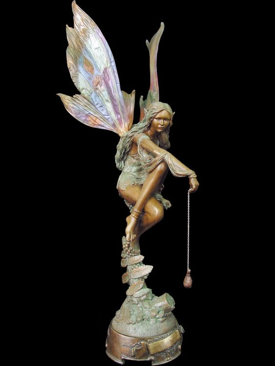 My Favorite Fairy Statues Fairies And Elves Pinterest