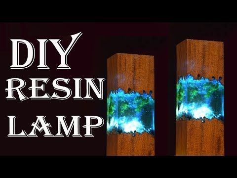 Easy Making Epoxy Resin Lamps How To Make Night Lamp With