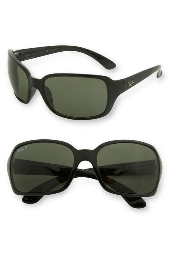 Ray-Ban 'Big Glamour' 60mm Polarized Sunglasses   Nordstrom #accessories