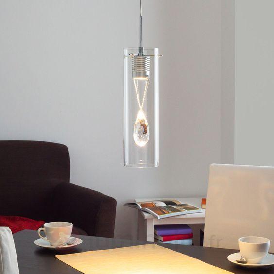Suspension LED Jace à pendeloque décorative 9950244