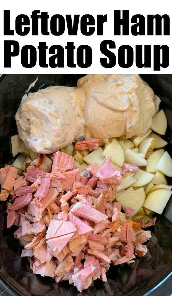 Leftover Ham Potato Soup