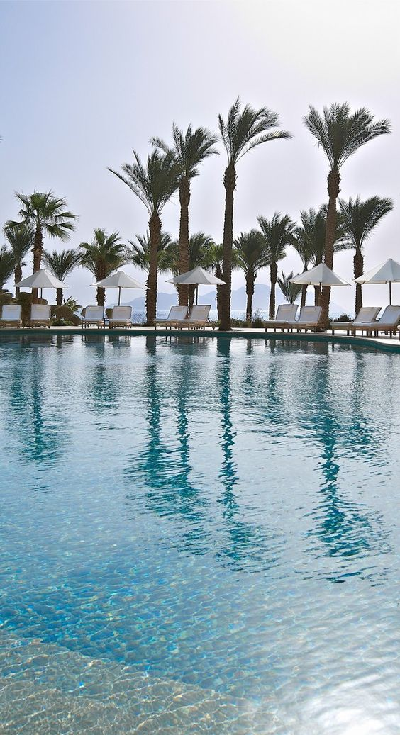 Four Seasons Resort Sharm El Sheikh's Waha Pool.