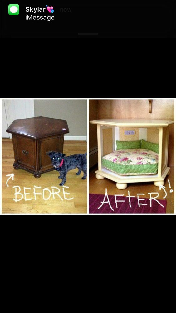 Homemade dog bed diy crafts that i love pinterest for Homemade beds for dogs