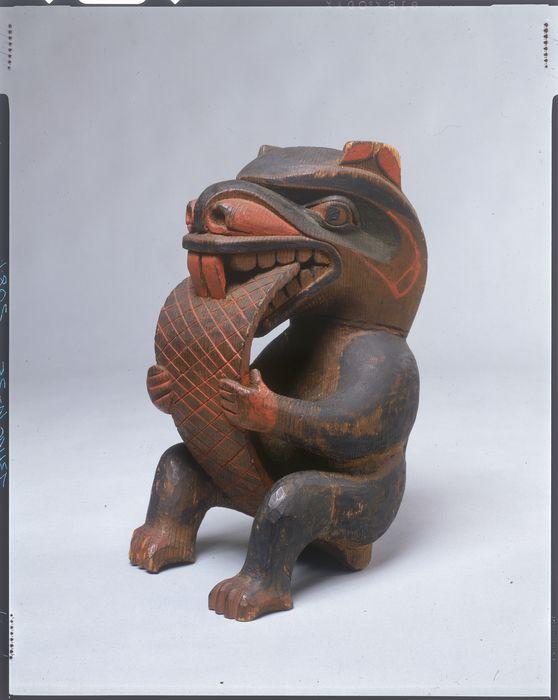 Kwakwaka'wakw Beaver, c.1900: