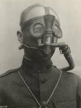 Gas Mask: Designed by Haldane, it kept soldiers breathing when either side bombed with gas