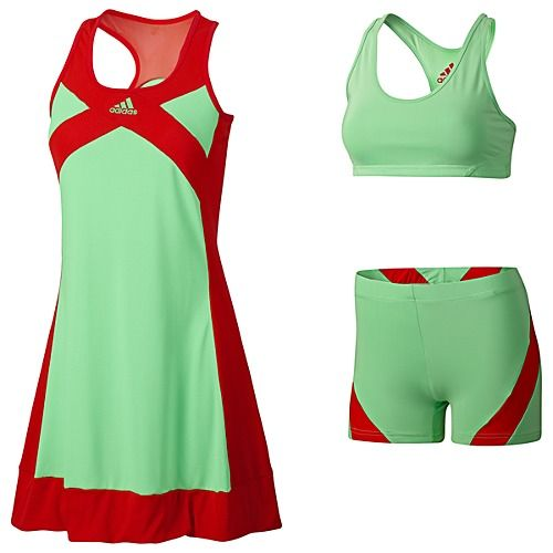 Tennis out fit by addidas. to wear this outfit would be the only reason i would play again!