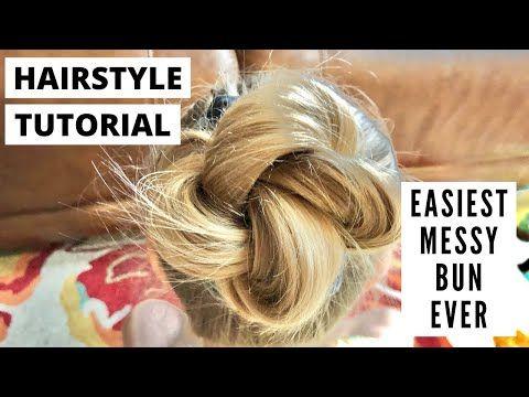 35++ Messy bun tutorial thin hair ideas