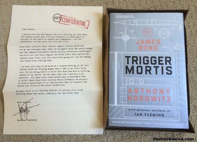 The Book Bond: TRIGGER MORTIS limited edition proof