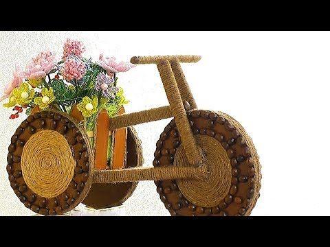 Tutorials Bike With Beautiful Decorative Youtube Crafts