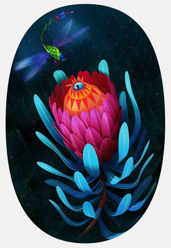 Illustrations by Jason Solo | Inspiration Grid | Design Inspiration