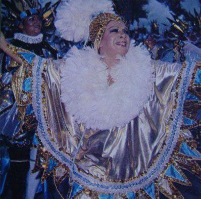 Elizeth, destaque tradicional da Portela, homenageou Eneida em 1983.