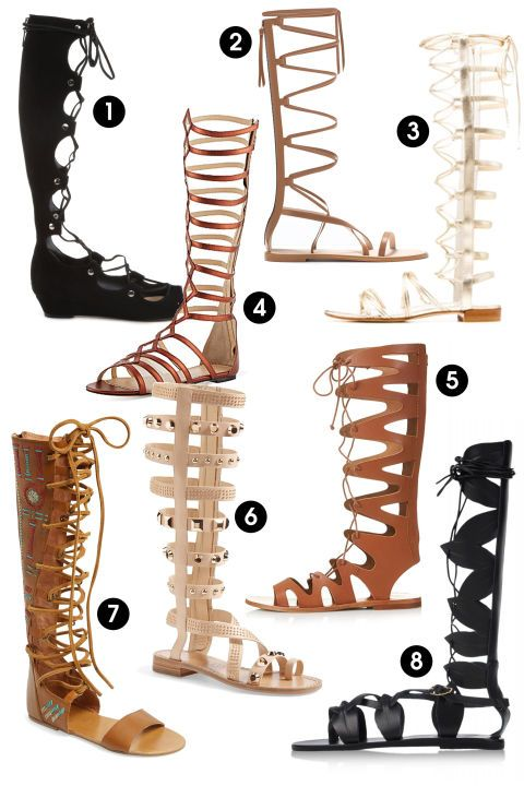 Modest Gladiator Sandals