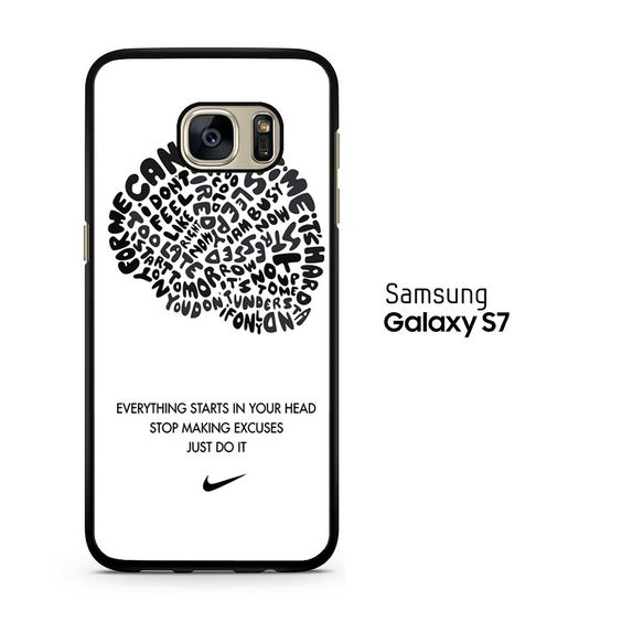 Just Do it Thinking Brain Samsung Galaxy S7 Case