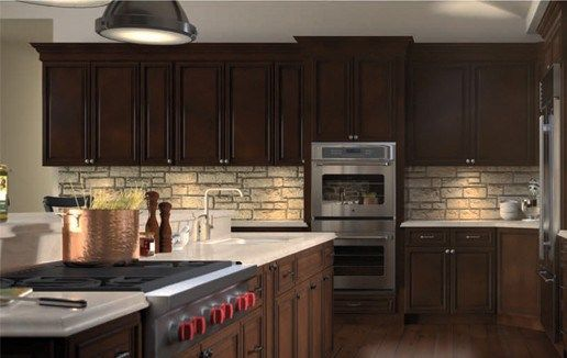 Pin On Dark Kitchen Cabinets Kitchen Cabinet Outlet Queens Ny