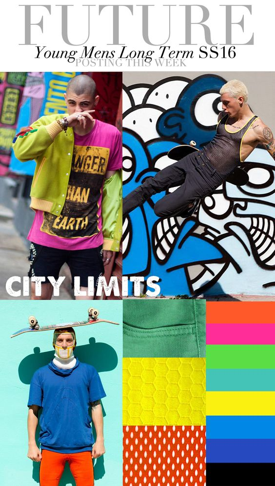 TREND COUNCIL S/S 2016- CITY LIMITS  #üçgengezegenler #fashion #trends