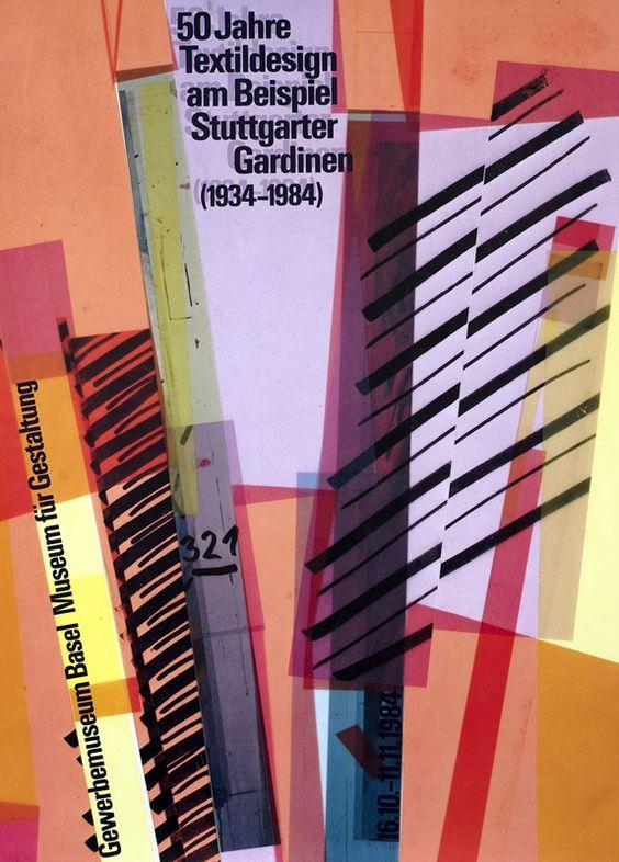 50 Jahre Textildesign am Beispiel Stuttgarter Gardinen (1934-1984) by Gasser, Bruno