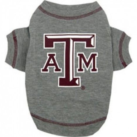 Texas A&M Dog T-Shirt
