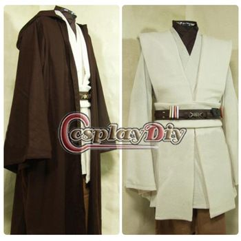 Custom Made Star Wars Obi-Wan Kenobi Jedi Tunic Costume Cosplay Costume