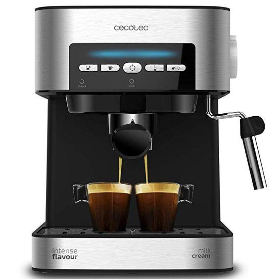 Cecotec Cafetera Espresso Power Espresso 20 Matic. Presión