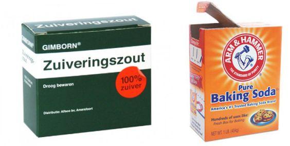 Article in Dutch  verschillende toepassingsmogelijkheden voor Baking Soda en adressen waar je