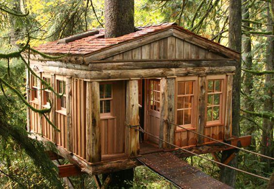 Cabañas, Casas, Mansiones en la Naturaleza