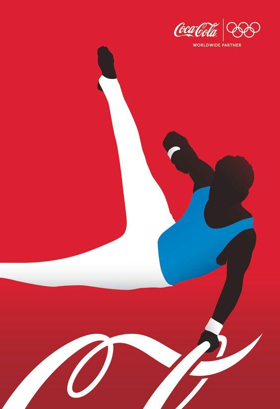 コカ・コーラオリンピックポスター
