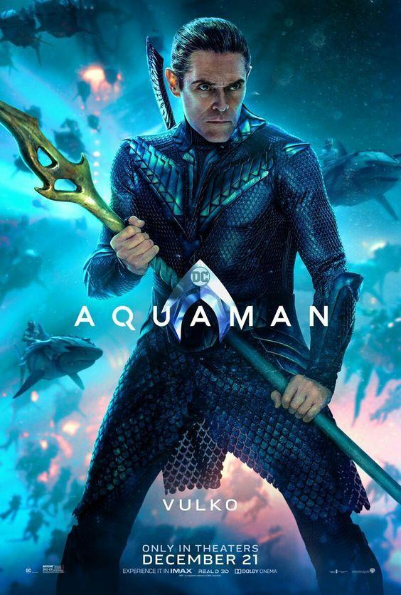 Vulko Aquaman Poster Aquaman Cosplayclass Dccomics Aquaman Pelicula Aquaman Películas Completas Gratis