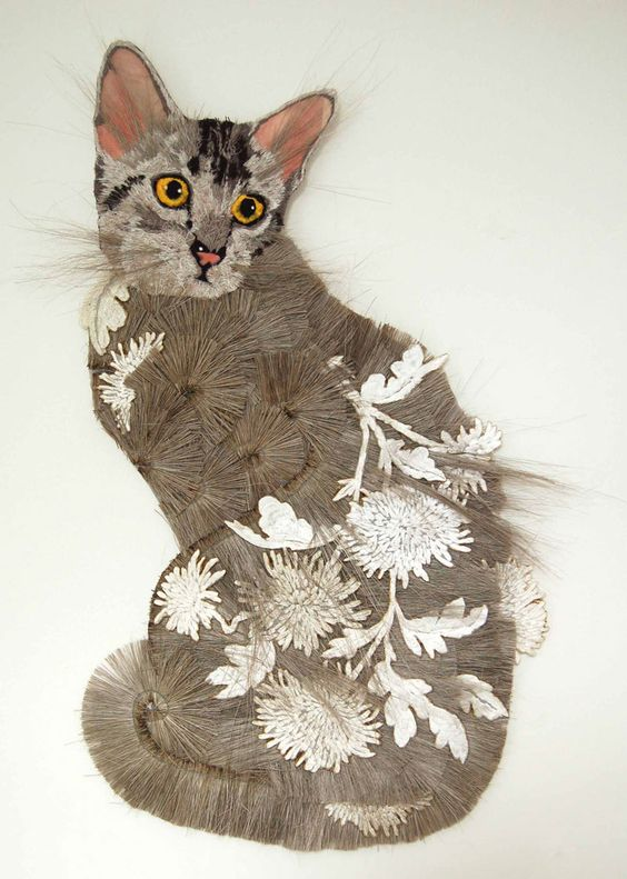 Textile artist Karen Nicol cat e A baptism of fire: An interview with brmixed media textile artist Karen Nicol