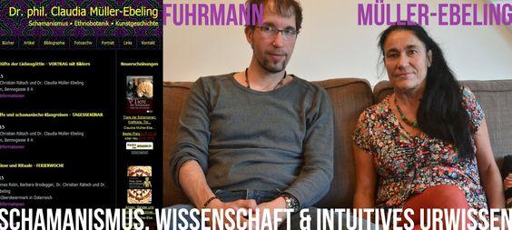 Dr. Claudia Müller-Ebeling + Jörg Fuhrmann zu Schamanismus, Ayahuasca un...