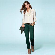Pantalon droit 7/8 eme femme