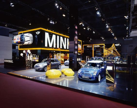 Car Exhibition Stand Design : Minis paris and exhibitions on pinterest