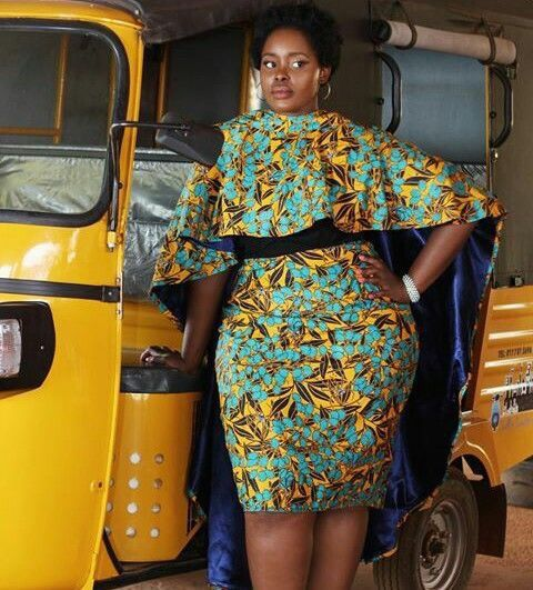 18 African Prints Styles For The Plus Size Woman | FashionGHANA.com: 100% African Fashion