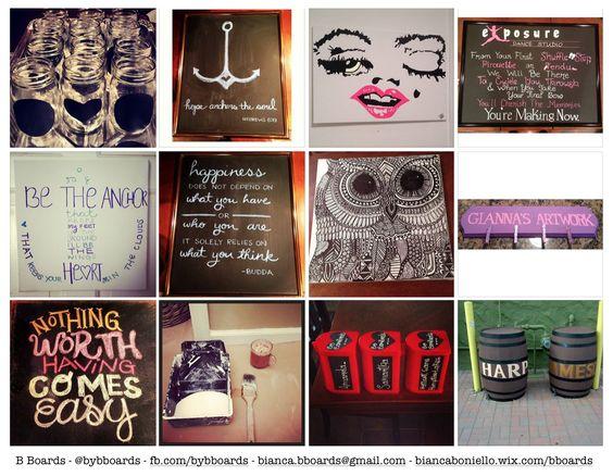 Email me at bianca.bboards@gmail.com  Facebook: www.facebook.com/bybboards  Twitter: @bybboards  Instagram: @bybboards  biancaboniello.wix.com/bboards