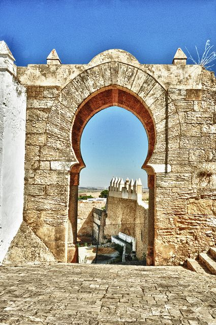 Arco de la Pastora o Puerta de la Salada (siglo X)   Medina Sidonia  (Cádiz) Spain