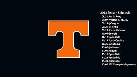 Tennessee Volunteers football schedule