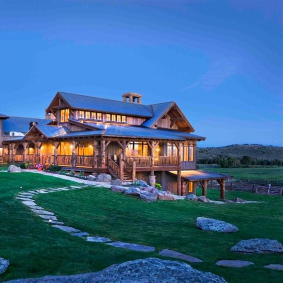 Luxury Farm Homes: Cowboy Chic, A House And Awesome Husband On Pinterest