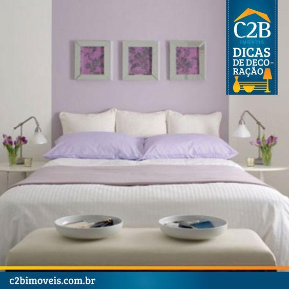 Sugestão de cor para o quarto.