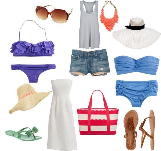 Off to the beach.