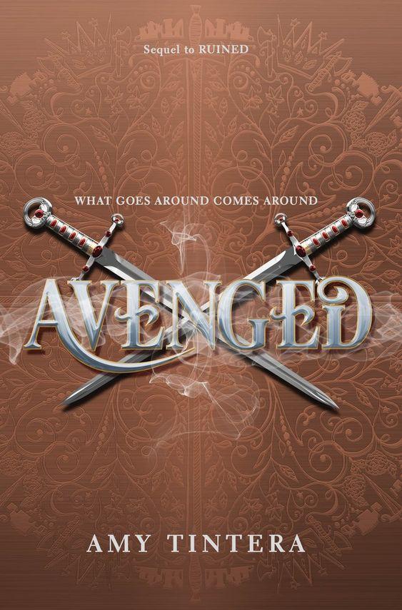 Avenged by Amy Tintera - on sale May 2, 2017