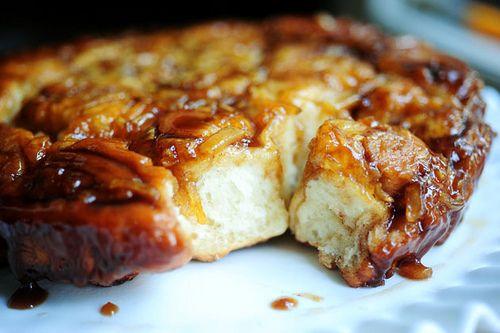 ... caramel sticky caramel sweet apple caramel apple buns it s apple apple