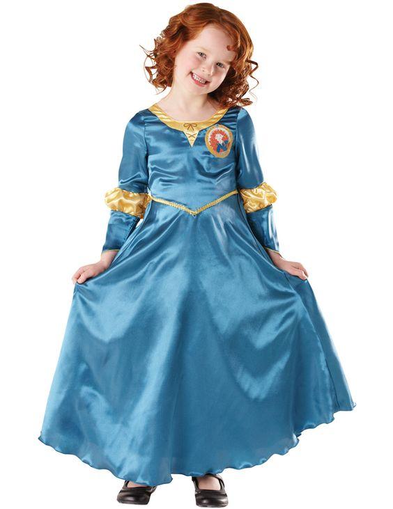 Disfraz de Mérida Indomable™ para niña. Disponible en www.vegaoo.es