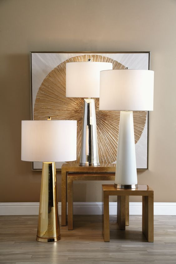 The Most Popular Interior Design Trends On Pinterest Right Now Lamps Living Room Decorative Table Lamps Contemporary Table Lamps